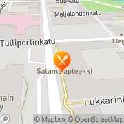 Kartta Kotipizza Maaherrankatu Kuopio, Suomi