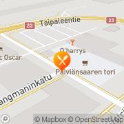 Kartta Bar Harrison / Z-one Varkaus, Suomi