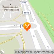 Kartta Ravintola Olteri Pubi Imatra, Suomi