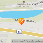 Kartta Ravintola Ooppera Terassi Savonlinna, Suomi