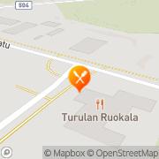 Kartta Turulan Ruokala Avoin yhtiö Outokumpu, Suomi