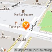 Kartta Pizza Grilli Toros Ay Joensuu, Suomi
