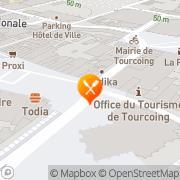 Carte de Sémur S.A. Tourcoing, France