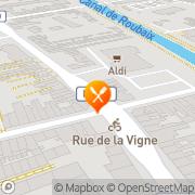 Carte de S.A.D.F. S.A. - Société Analyse Développement France Roubaix, France