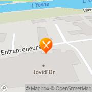 Carte de JOVID OR SA Joigny, France