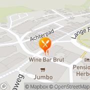 Kaart Sphinx Restaurant Renesse, Nederland