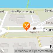 Kaart Hampshire Hotel-Churchill Hotel The taste of Churchill Terneuzen, Nederland