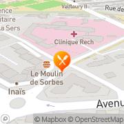 Carte de Caprices et Gourmandises Montpellier, France
