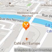 Carte de LECLUYSE PATISSERIE SA Maubeuge, France