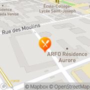Carte de S.A.M.C.O.R. S.A. - Société Anonyme de Mécanique et de Construction d'Outillage Reims, France