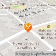 Carte de ARADOPA Reims, France