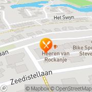 Kaart Pizzeria Nisa Rockanje, Nederland