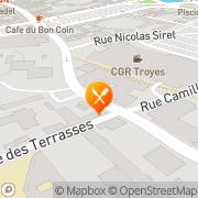 Carte de IFK-Isofluor France S.A.R.L. Troyes, France