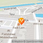 Kaart Fook Lam Chinees Afhaalcentrum Middelharnis, Nederland