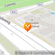 Kaart Restaurant De Bijhorst (Hotel vd Valk Den Haag-Wassenaar) Wassenaar, Nederland
