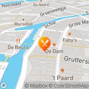 Kaart Hosman Frères Bistrot & Auberge Schiedam, Nederland