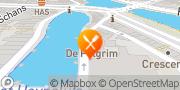 Kaart Stadsbrouwerij Restaurant De Pelgrim Rotterdam, Nederland