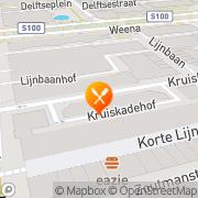 Kaart Japans Restaurant Yamato Rotterdam, Nederland