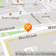 Kaart Momocha Rotterdam, Nederland