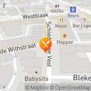 Kaart Tomme San Rotterdam, Nederland