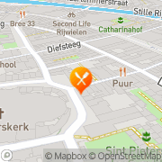 Kaart Spiekeria Afhaalcentrum Pizza Leiden, Nederland