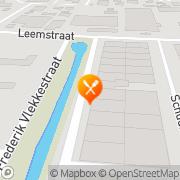 Kaart Spare Rib Express Roosendaal, Nederland