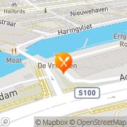 Kaart Riva Rotterdam, Nederland