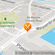 Kaart Facet Eetcafé BV Rotterdam, Nederland