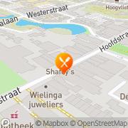 Kaart Shafey's Bar Restaurant Sassenheim, Nederland