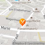 Kaart Farao Shoarma Oudenbosch, Nederland