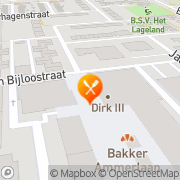 Kaart Thai King Thais Eethuis Rotterdam, Nederland
