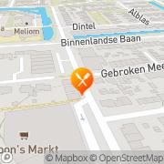 Kaart Grieks Afhaalcentrum Artemis Barendrecht, Nederland