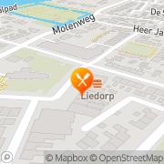 Kaart City Corner Chinees Afhaalcentrum Heerjansdam, Nederland