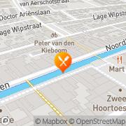 Kaart Restaurant Huis Wijnen & Spijzen Zevenbergen, Nederland