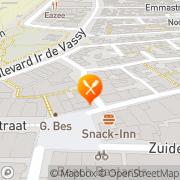 Kaart Klok Restaurant De Egmond aan Zee, Nederland