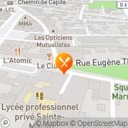 Carte de ASSOCIATION BAGNOLAISE DE PARENTS D'ENFANTS INADAPTES Bagnols-sur-Cèze, France
