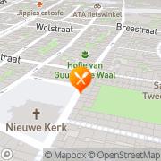 Kaart Wandelaar De Haarlem, Nederland
