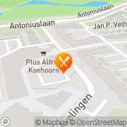 Kaart Peking Express Hendrik-Ido-Ambacht, Nederland