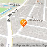 Kaart Helal Shoarmaspeciaalzaak Haarlem, Nederland