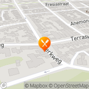 Kaart Chen Tong Kong Chinees-Indisch Rest Santpoort-Noord, Nederland