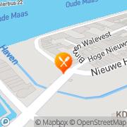 Kaart De Passant Eetcafé Dordrecht, Nederland