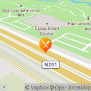 Kaart Salsa Storehouse Hoofddorp, Nederland