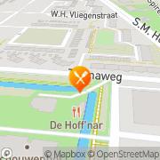 Kaart Hoffnar Restaurant De Dordrecht, Nederland