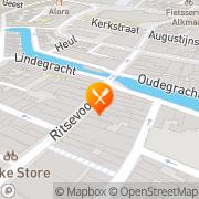 Kaart Riche Alkmaar, Nederland
