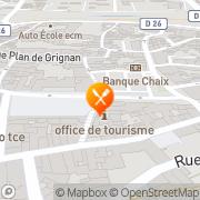 Carte de S.O.D.E.C. S.A. - Société Organisation de Documentations et d'Exper Bollène, France