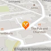 Kaart Chinees-Indisch Restaurant Chinese Muur De Made, Nederland