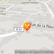 Carte de Davreux Noizet S.A.R.L. Thilay, France