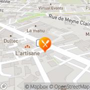 Carte de LA-MANU/SVPS Orange, France
