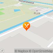 Kaart Waterkelder Brasserie De Uithoorn, Nederland