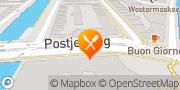 Map Restaurant Edel Amsterdam, Netherlands